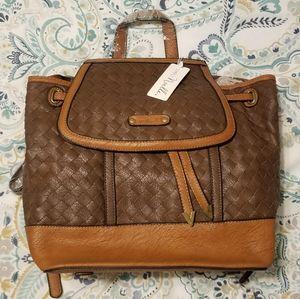 Simply Noelle Cinch Top Backpack/Purse